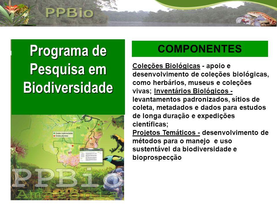 Programa de Pesquisa em Biodiversidade