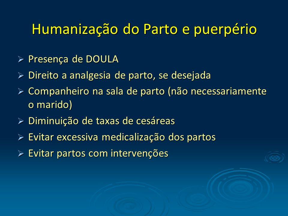 Humanização do Parto e puerpério