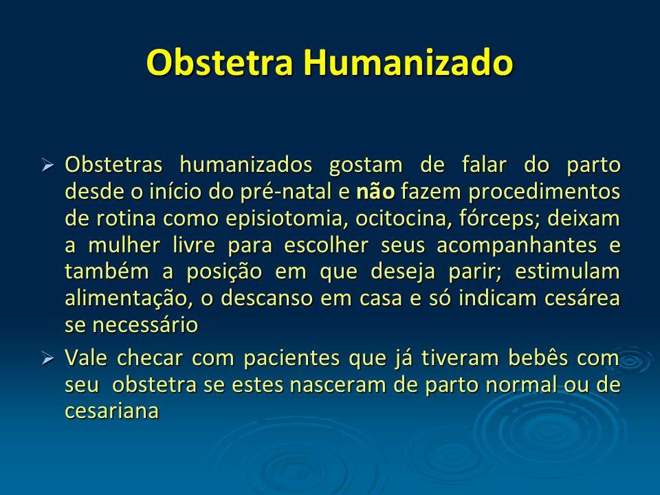 Obstetra Humanizado