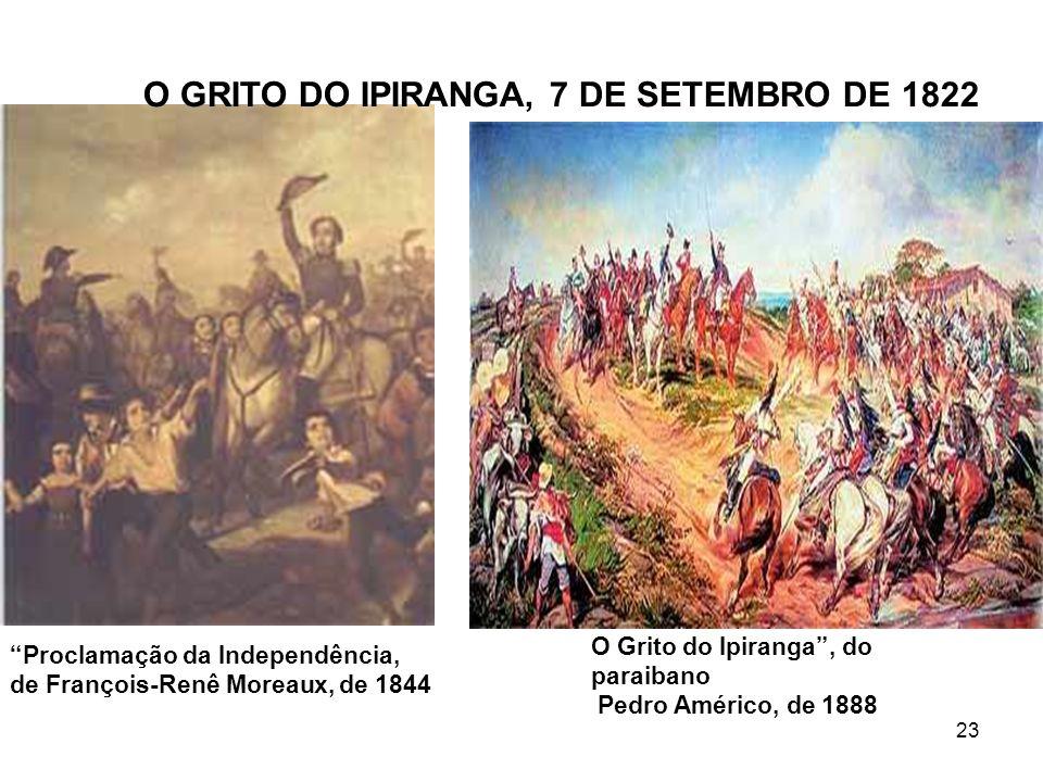O GRITO DO IPIRANGA, 7 DE SETEMBRO DE 1822