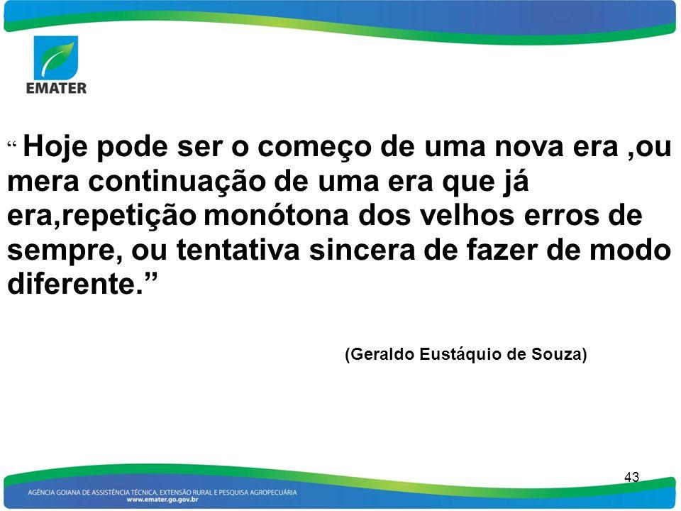 (Geraldo Eustáquio de Souza)
