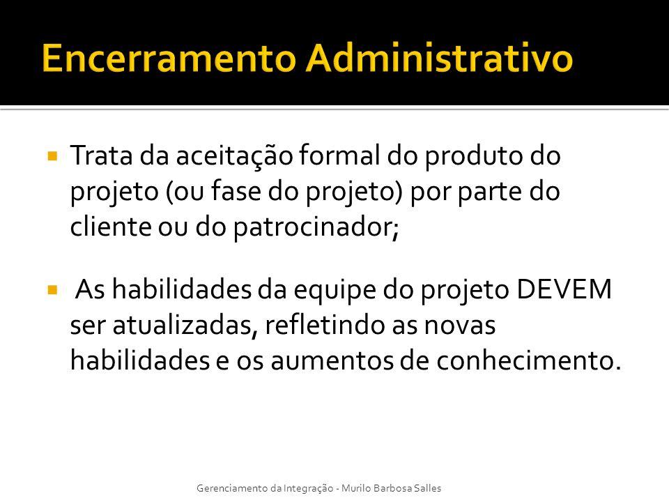 Encerramento Administrativo