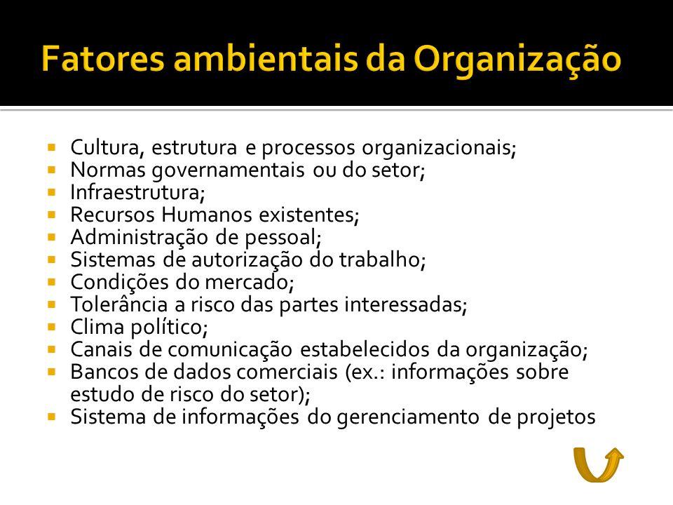 Fatores ambientais da Organização