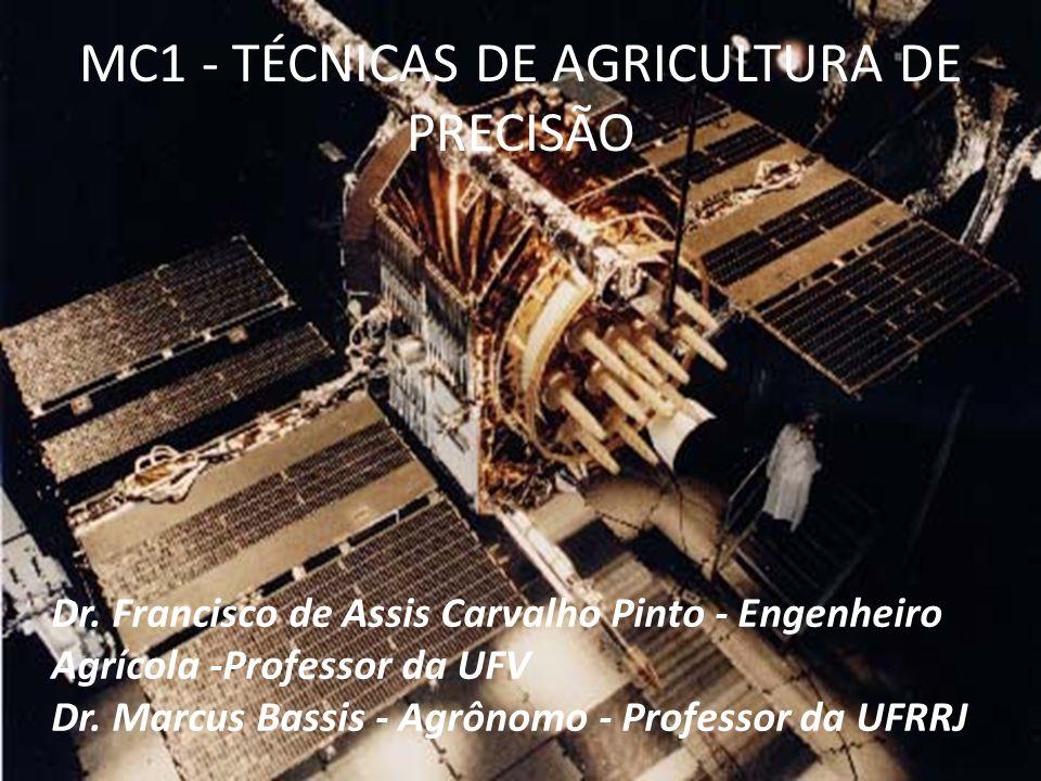 MC1 - TÉCNICAS DE AGRICULTURA DE PRECISÃO