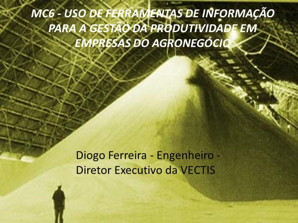 MC6 - USO DE FERRAMENTAS DE INFORMAÇÃO PARA A GESTÃO DA PRODUTIVIDADE EM EMPRESAS DO AGRONEGÓCIO