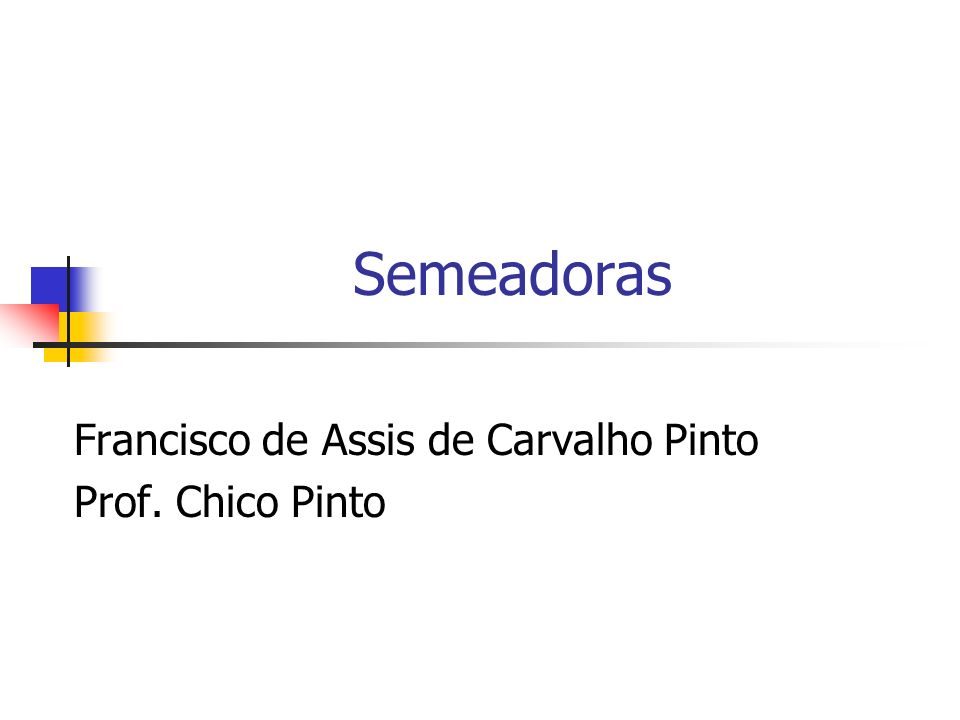 Francisco de Assis de Carvalho Pinto Prof. Chico Pinto