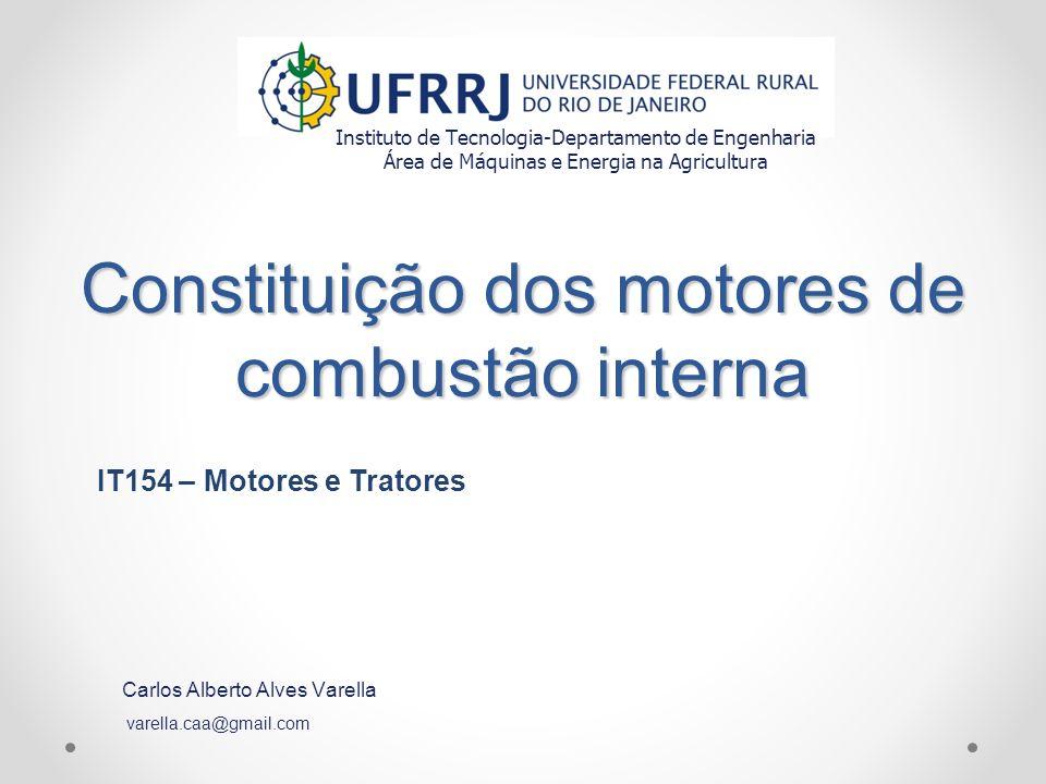 Constituição dos motores de combustão interna