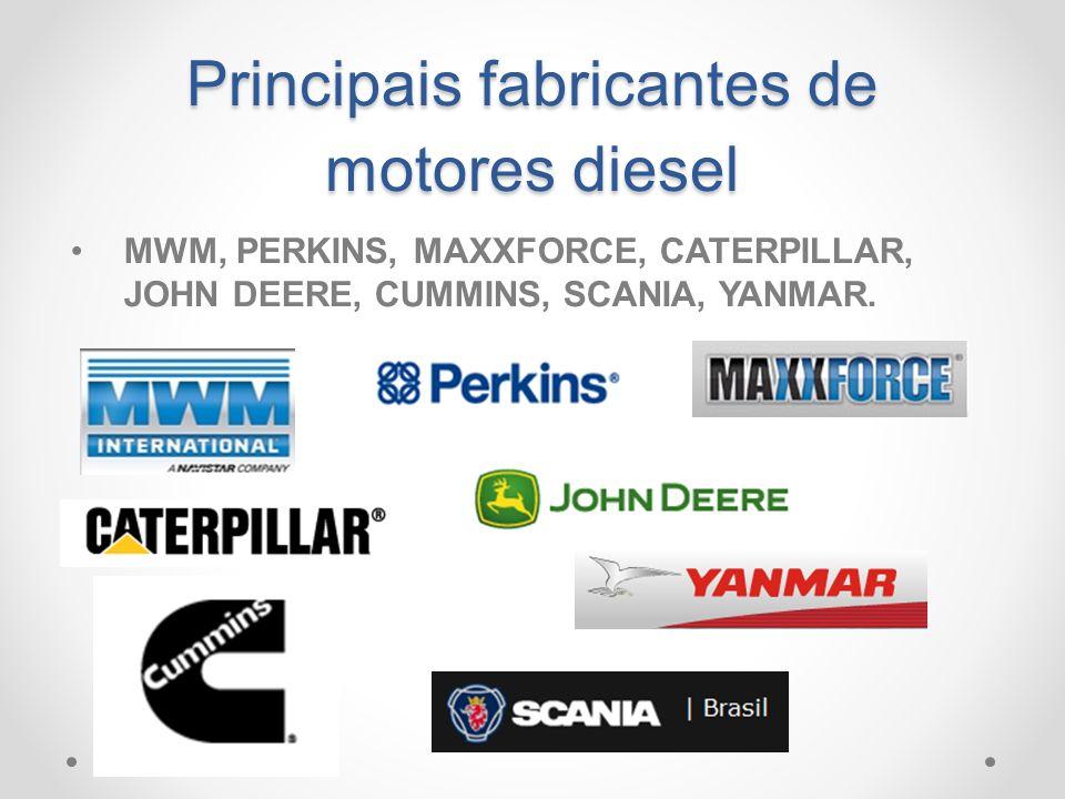 Principais fabricantes de motores diesel