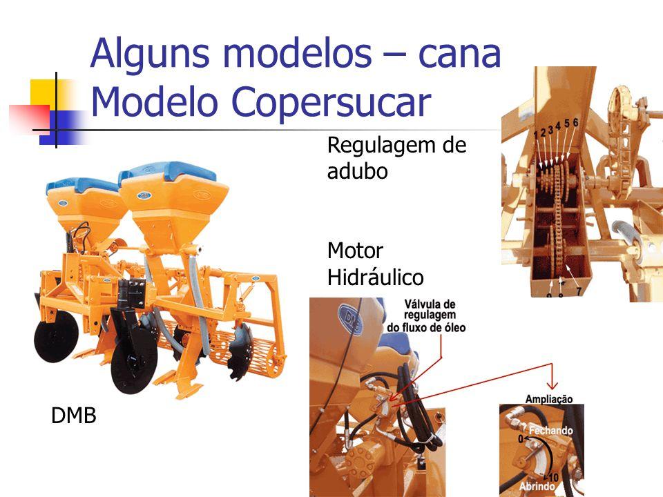 Alguns modelos – cana Modelo Copersucar