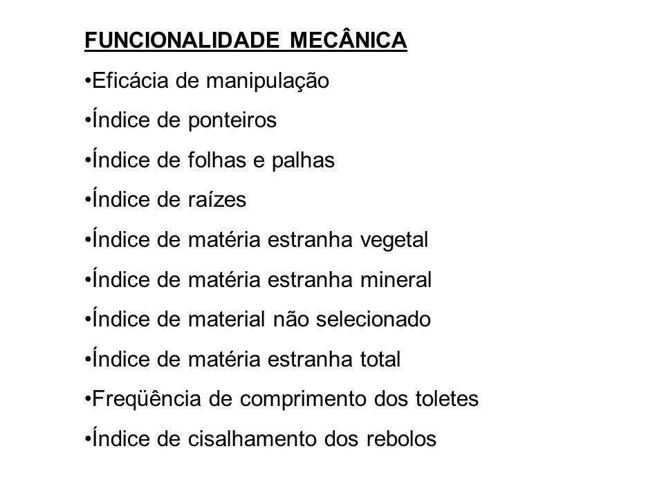 FUNCIONALIDADE MECÂNICA