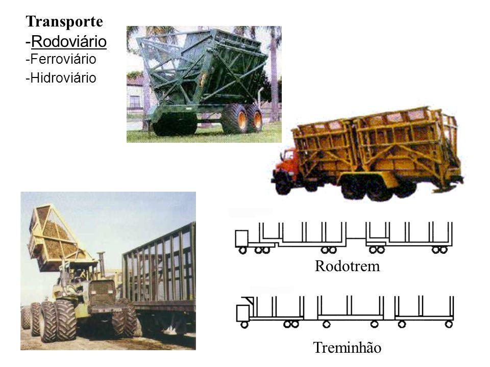 Transporte Rodoviário Ferroviário Hidroviário Rodotrem Treminhão
