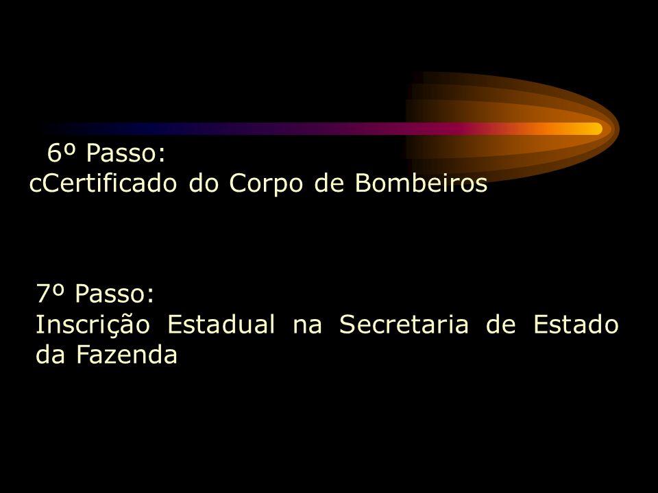 cCertificado do Corpo de Bombeiros