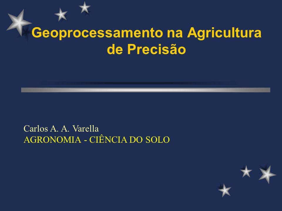 Geoprocessamento na Agricultura de Precisão