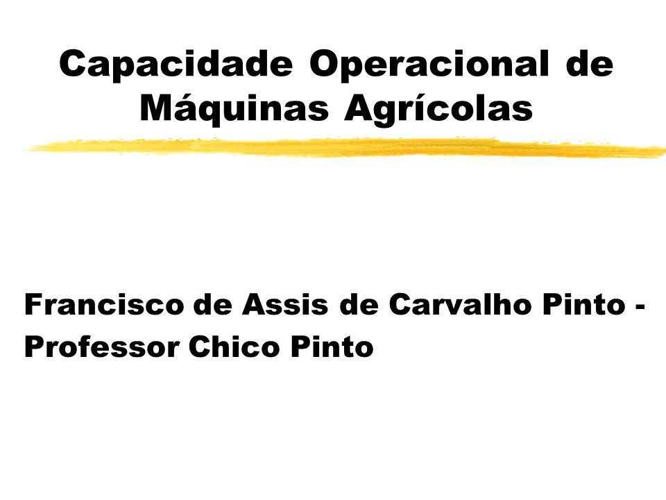 Capacidade Operacional de Máquinas Agrícolas