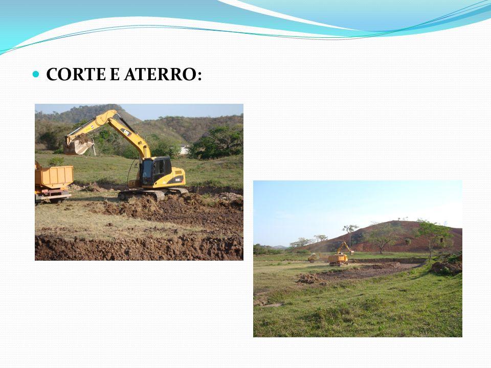 CORTE E ATERRO: