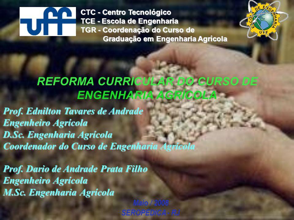 REFORMA CURRICULAR DO CURSO DE