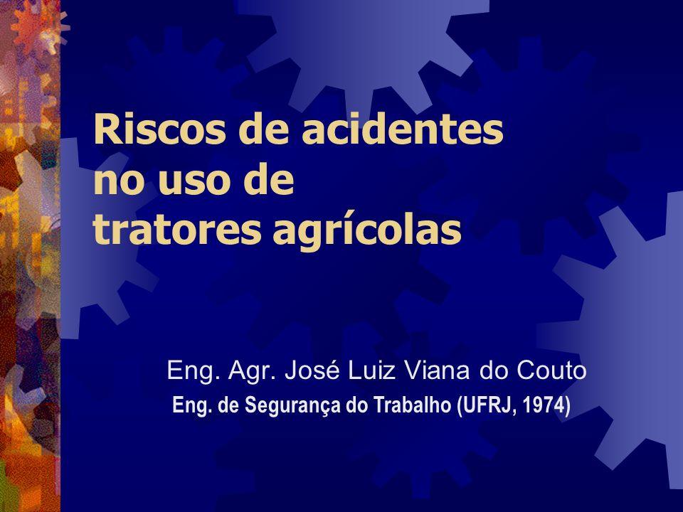 Riscos de acidentes no uso de tratores agrícolas