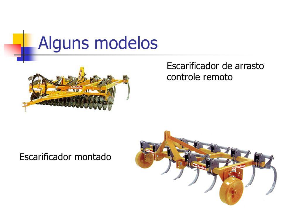 Alguns modelos Escarificador de arrasto controle remoto
