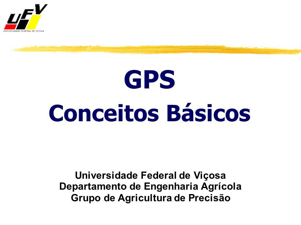 GPS Conceitos Básicos Universidade Federal de Viçosa