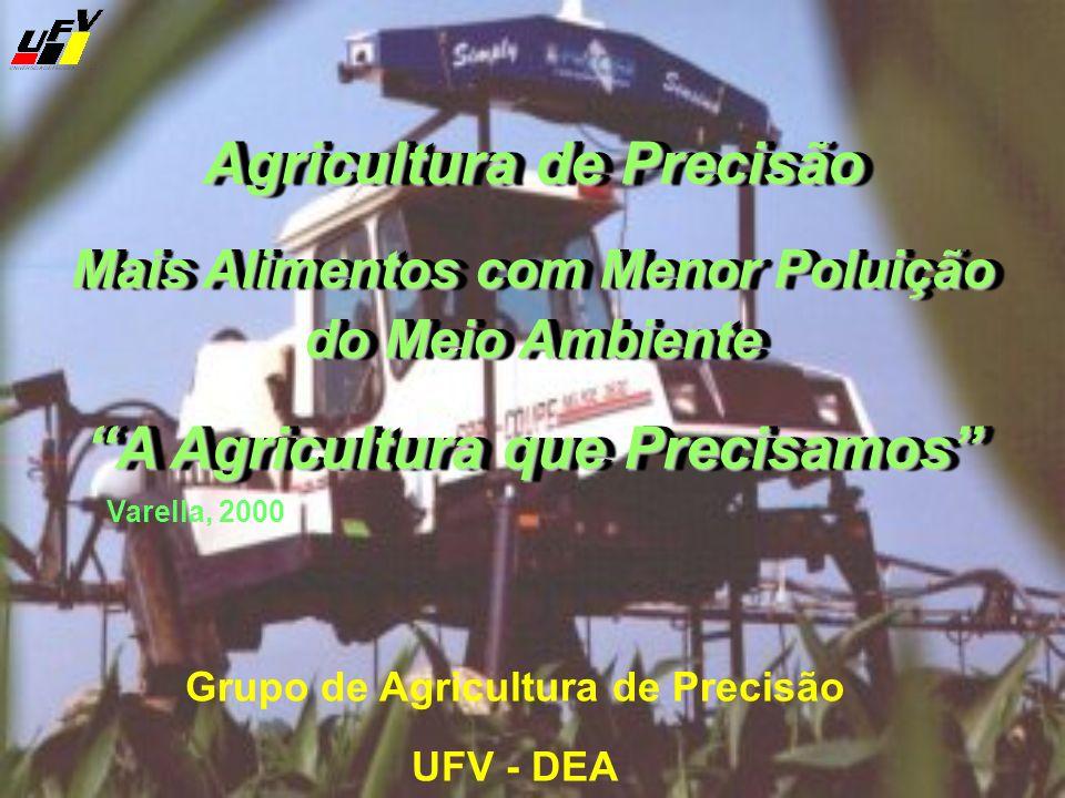 Agricultura de Precisão A Agricultura que Precisamos
