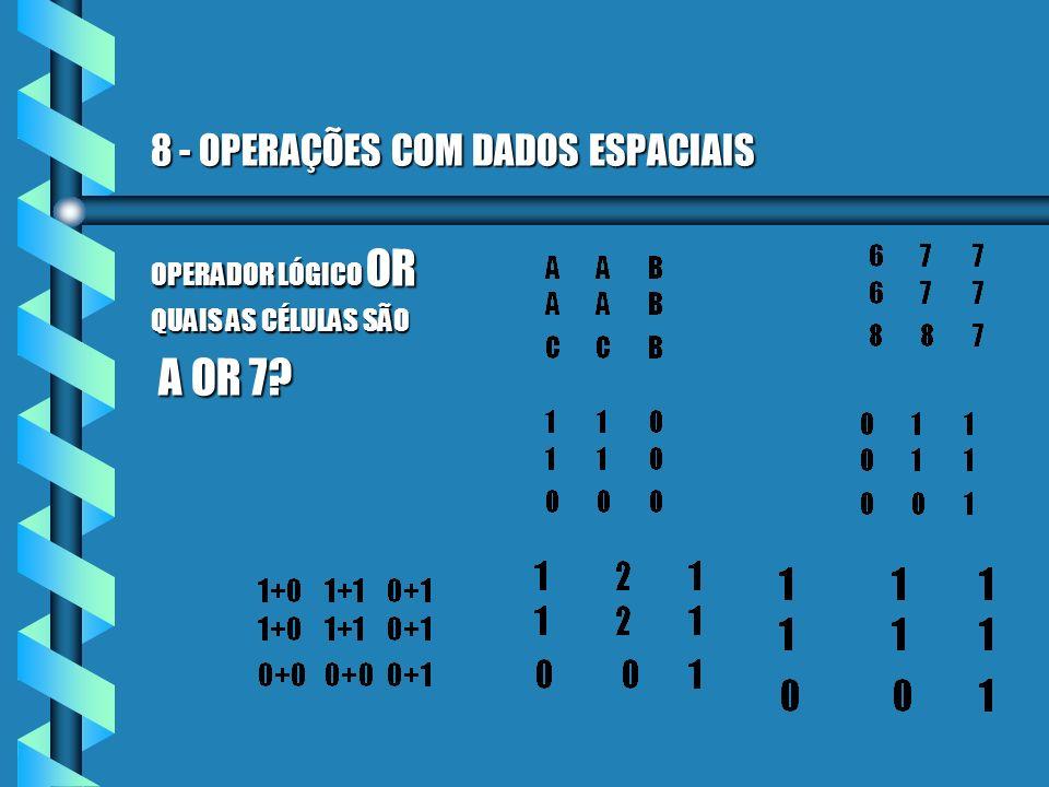 8 - OPERAÇÕES COM DADOS ESPACIAIS