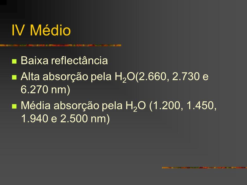 IV Médio Baixa reflectância