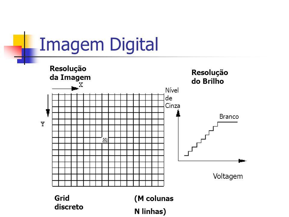 Imagem Digital Resolução da Imagem Resolução do Brilho Voltagem