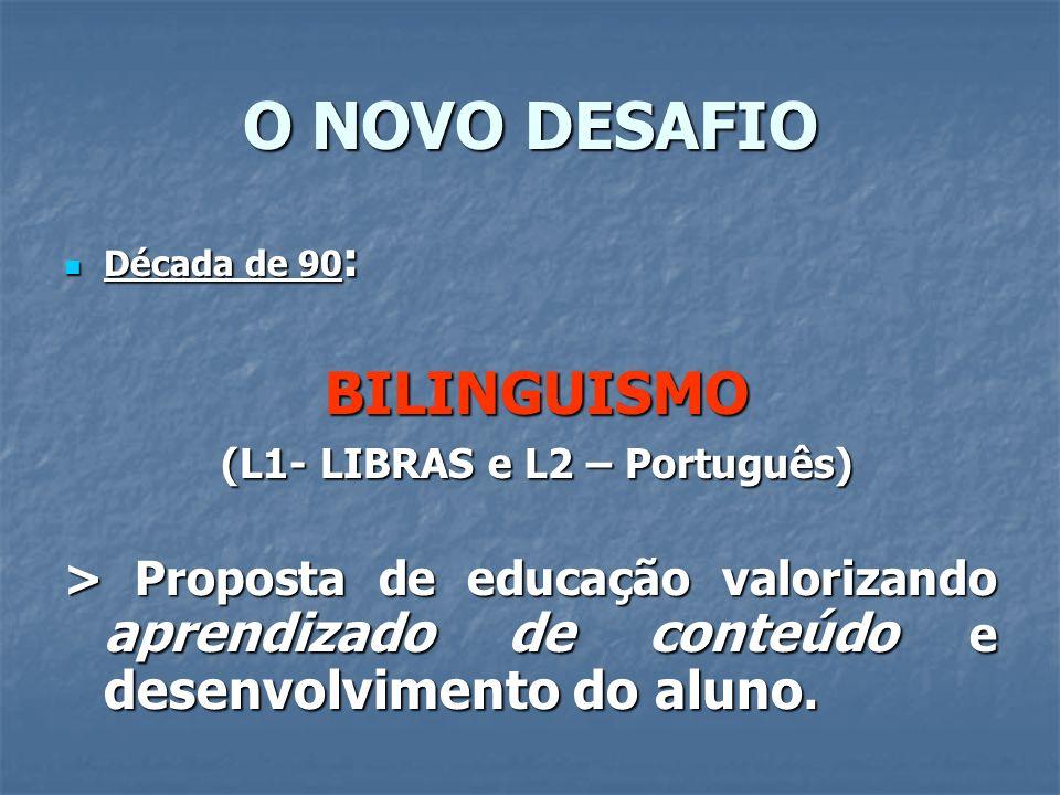 (L1- LIBRAS e L2 – Português)