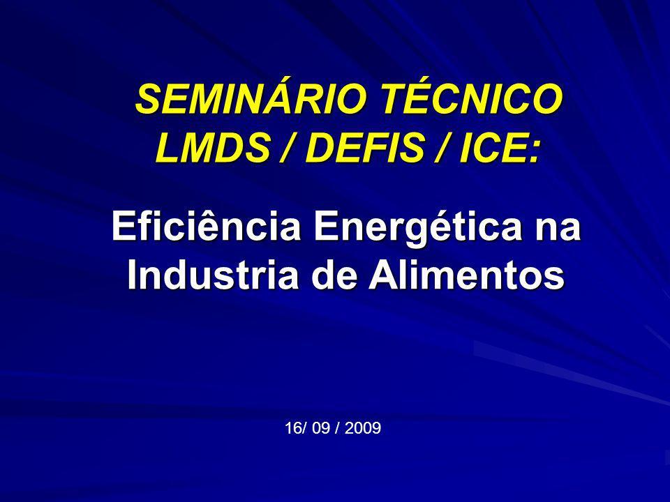 SEMINÁRIO TÉCNICO LMDS / DEFIS / ICE: