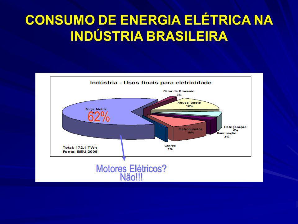 CONSUMO DE ENERGIA ELÉTRICA NA INDÚSTRIA BRASILEIRA