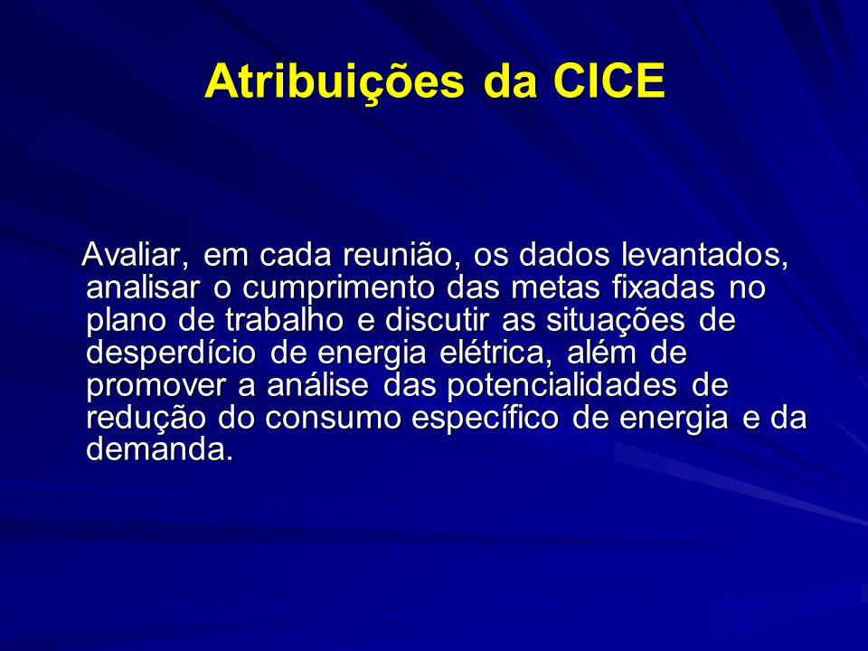 Atribuições da CICE