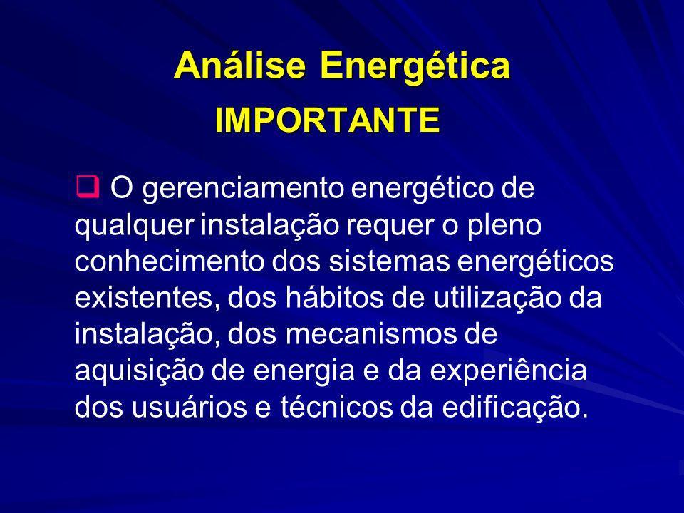 Análise Energética IMPORTANTE