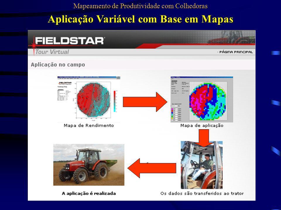 Aplicação Variável com Base em Mapas