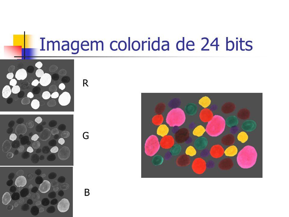 Imagem colorida de 24 bits