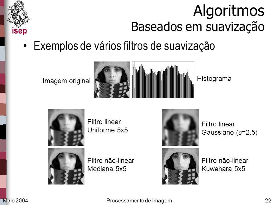 Algoritmos Baseados em suavização