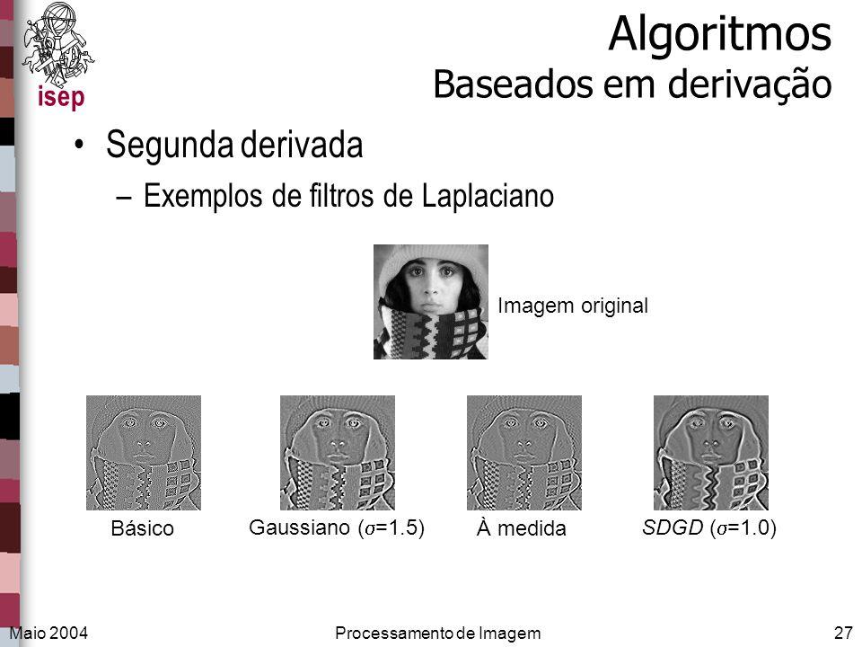 Algoritmos Baseados em derivação