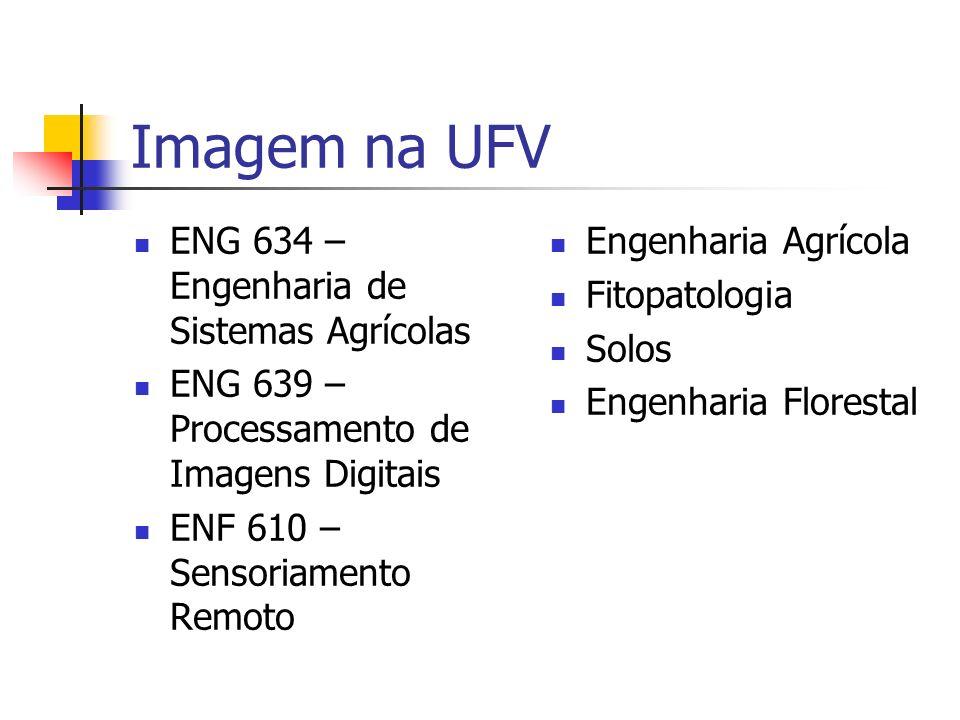 Imagem na UFV ENG 634 – Engenharia de Sistemas Agrícolas