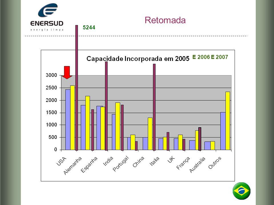Retomada 5244 E 2006 E 2007