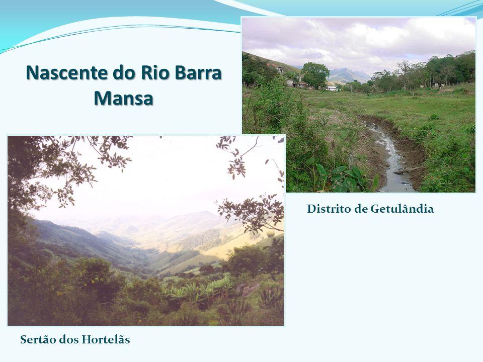 Nascente do Rio Barra Mansa Distrito de Getulândia