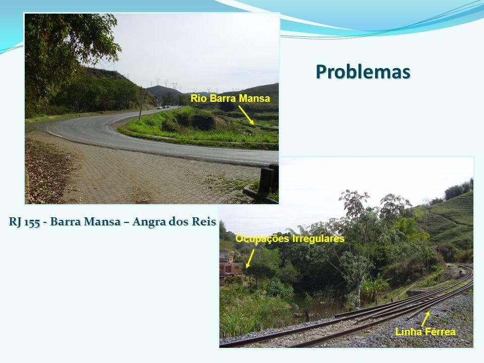 Problemas RJ 155 - Barra Mansa – Angra dos Reis Rio Barra Mansa