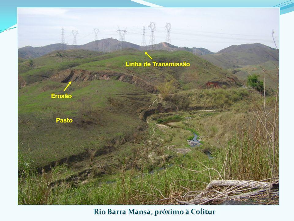 Rio Barra Mansa, próximo à Colitur