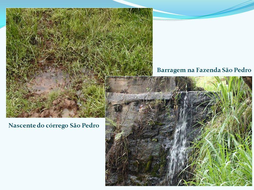 Barragem na Fazenda São Pedro