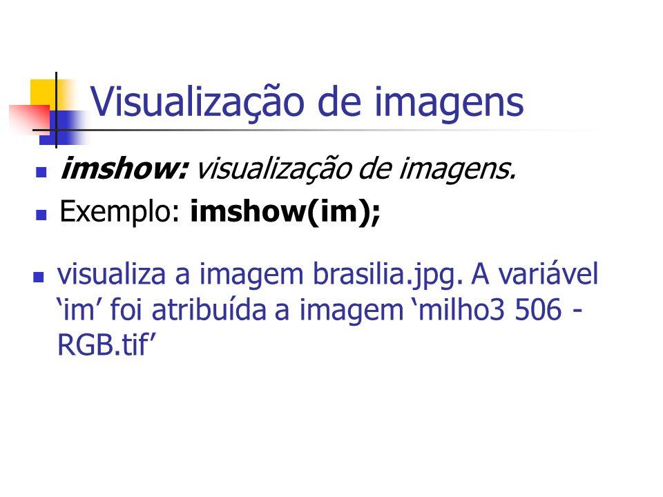 Visualização de imagens