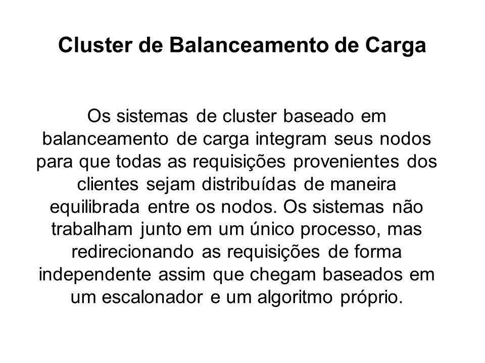 Cluster de Balanceamento de Carga