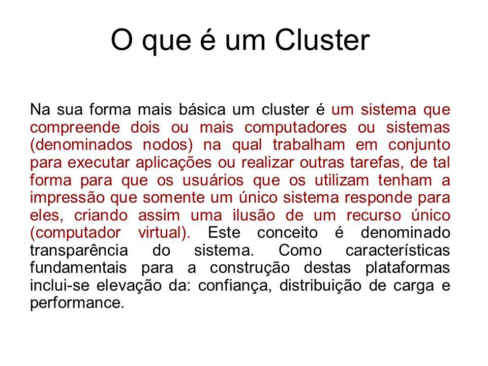 O que é um Cluster