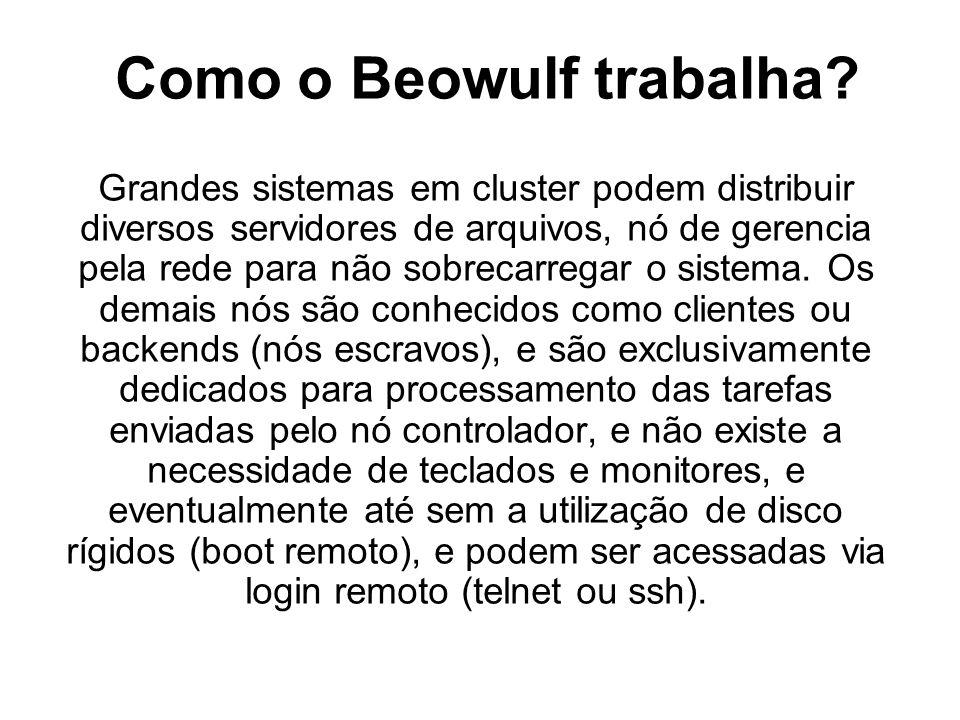 Como o Beowulf trabalha