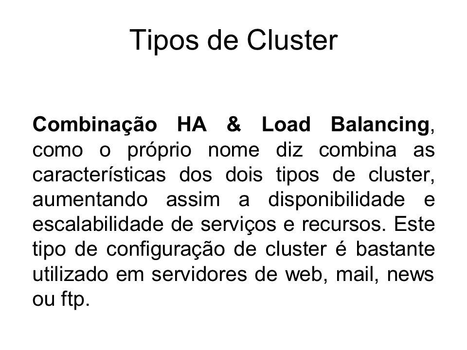 Tipos de Cluster