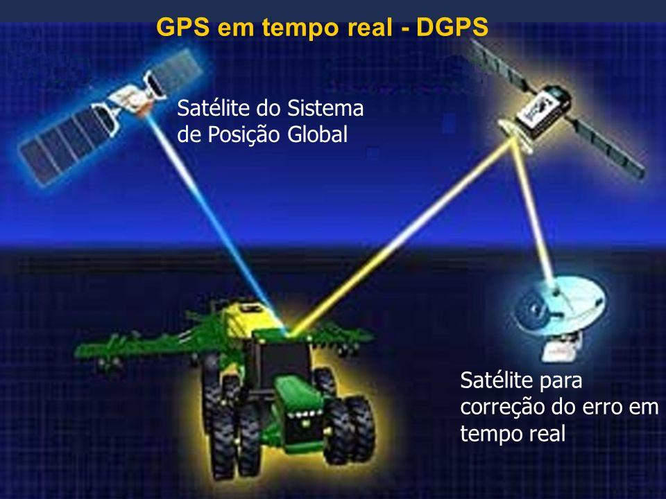 GPS em tempo real - DGPS Satélite do Sistema de Posição Global