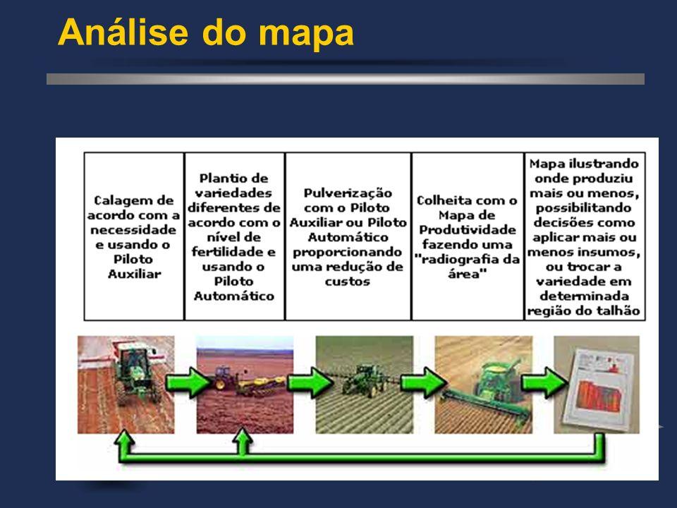 Análise do mapa