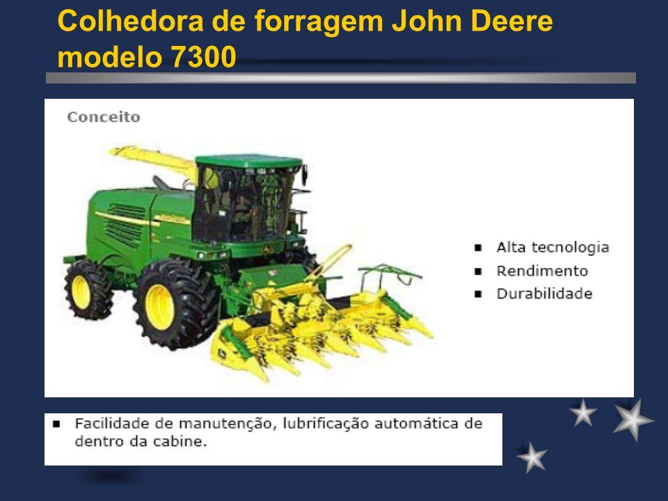 Colhedora de forragem John Deere modelo 7300